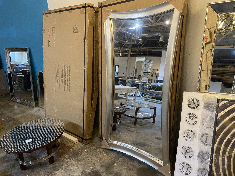 Bassett Mirror Company - Floor to Ceiling Mirror - Silver