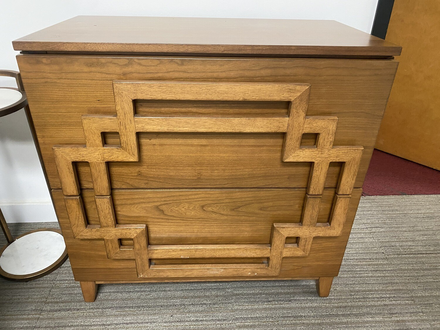 Mid-Century Modern Wood Chest