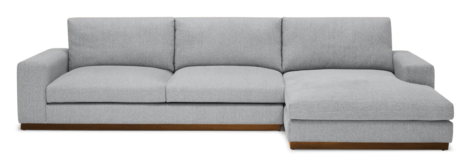 JB Holt Sectional (Clearview Ice) 3941