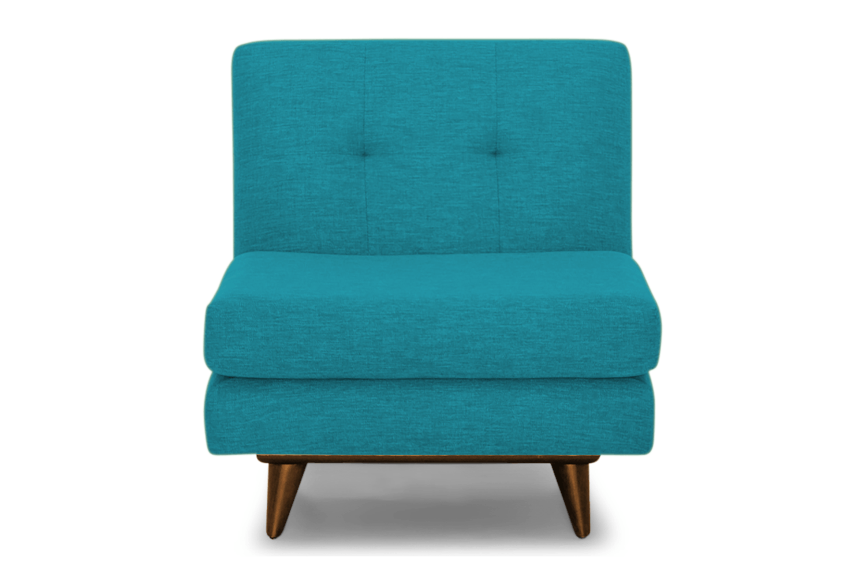 JB Hughes Armless Chair -Vibe Aquatic 1230