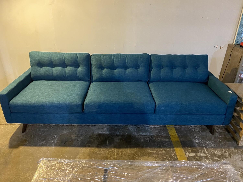 JB Hopson Grand Sofa (Key Largo Zenith Teal) 2413