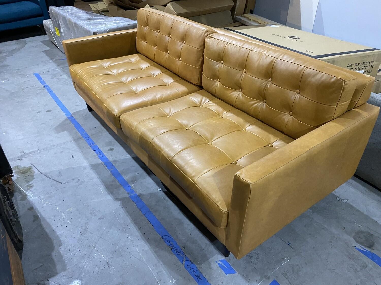 JB Eliot Leather Sofa - Santiago Camel 3313