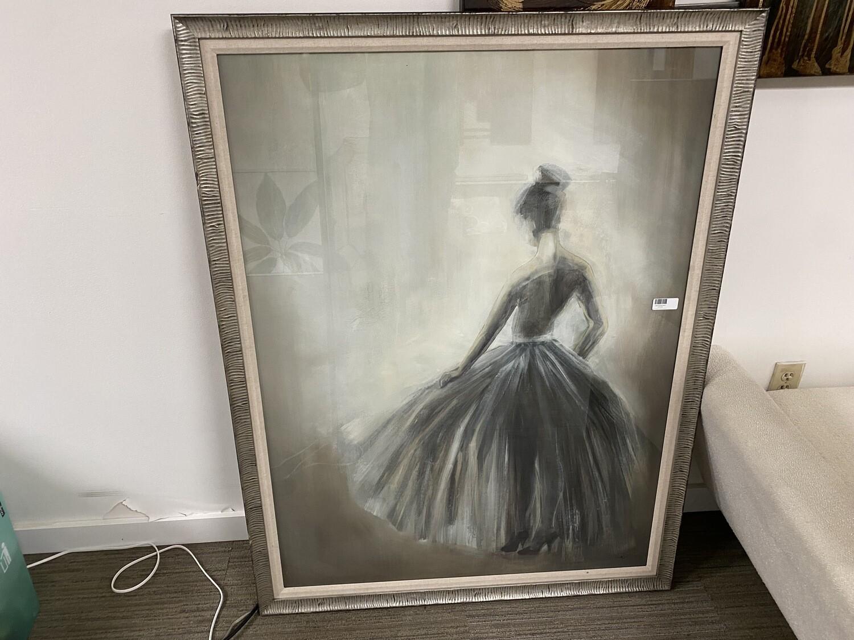 Lady Art (w/Glass)