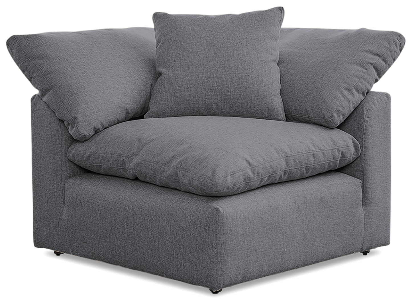 Bryant Sectional - 3pc (3 Corner Chairs) Essence Ash 4365