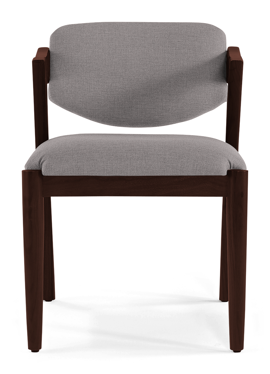 JB Morgan Dining Chair (Taylor Felt Gray) 370