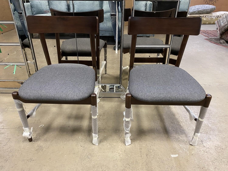 JB Remy Dining Chair (Set of 2) Taylor Felt Grey 370