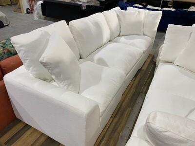 JB Bryant Modular Sofa (3 piece) (Tussah Snow) 3978