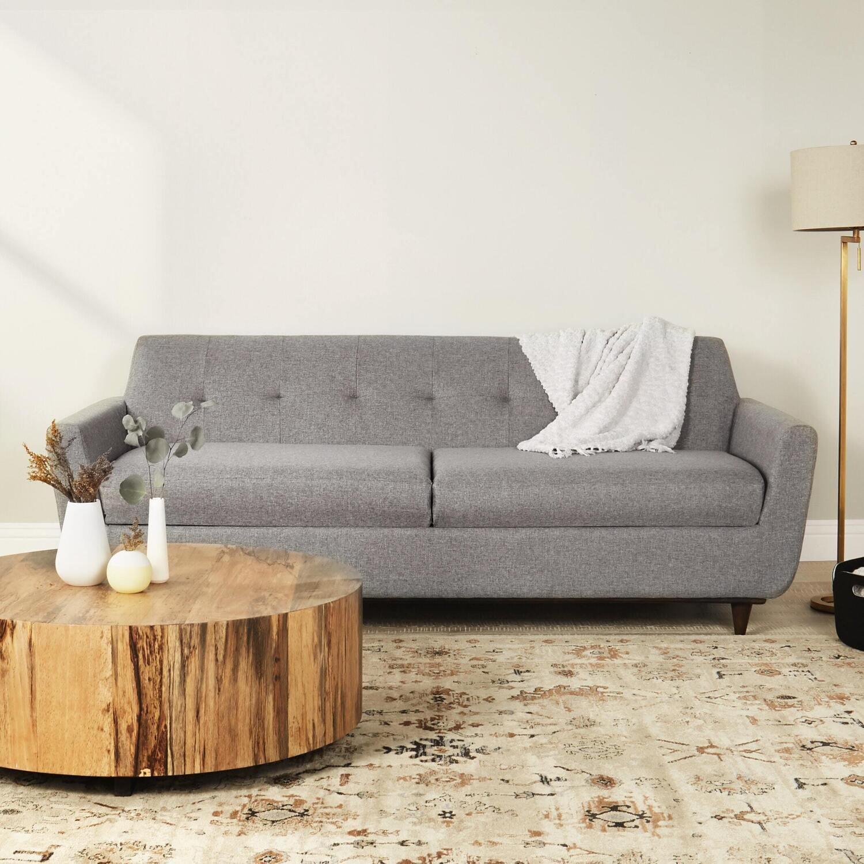 JB Hughes Sofa with Storage (Essence Ash) 2470