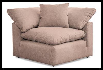 JB Bryant Corner Chair (Prime Blush) 1572