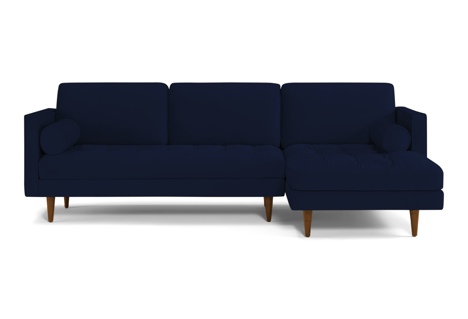 JB Briar Sectional (Royale Cobalt) (Chaise Right Facing) 3990