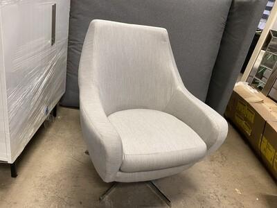 JB Lenette Swivel Chair (Sunbrella Premier Fog 1893