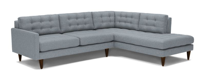 JB Eliot Sectional with Bumper (2-Piece)  (Synergy Pewter) 3984