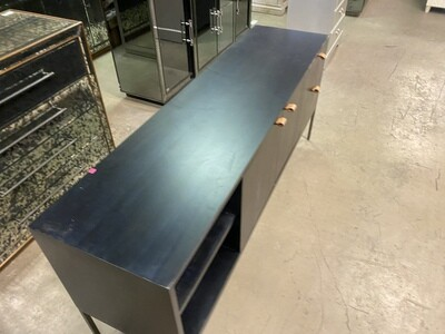 Media Console - Black (Has blemishes)