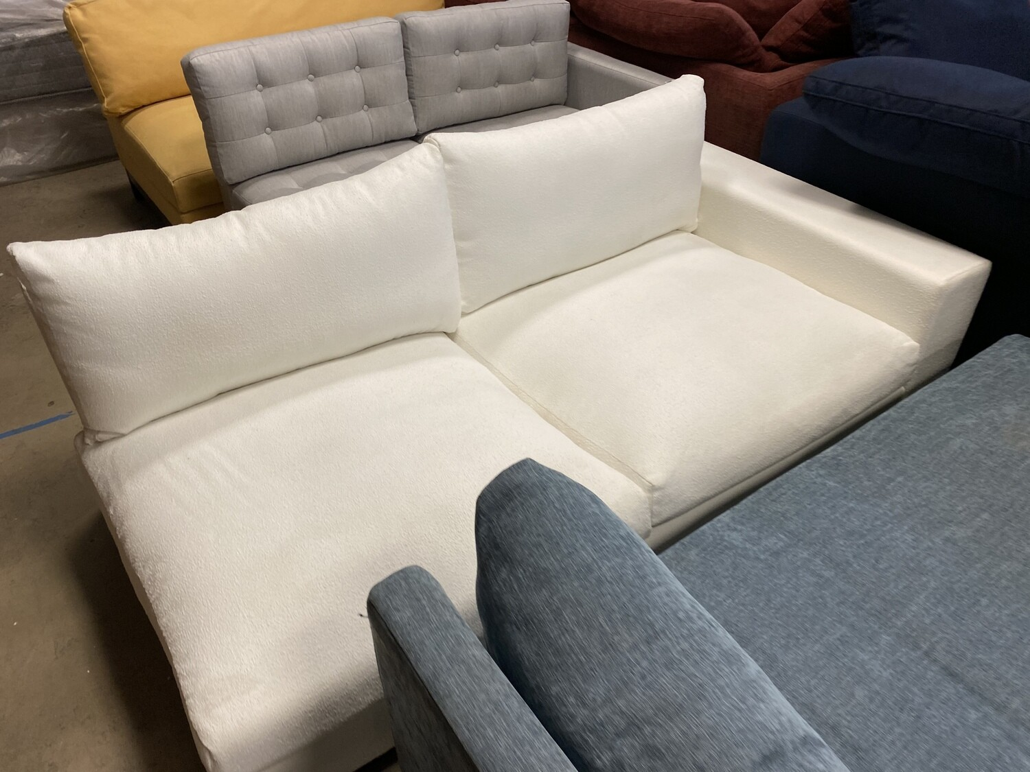 JB Holt Sectional (only one part) Tussah Snow