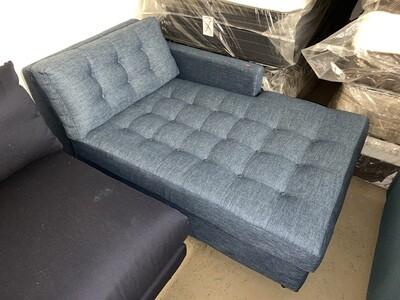 JB Eliot Storage Chaise (Milo French Blue)