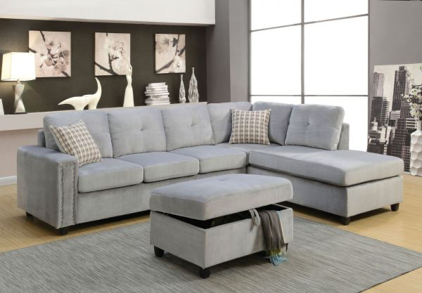 Belville Sectional Sofa Acme