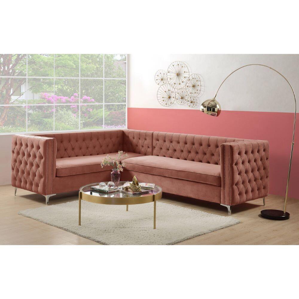 Rhett Sectional Sofa Acme