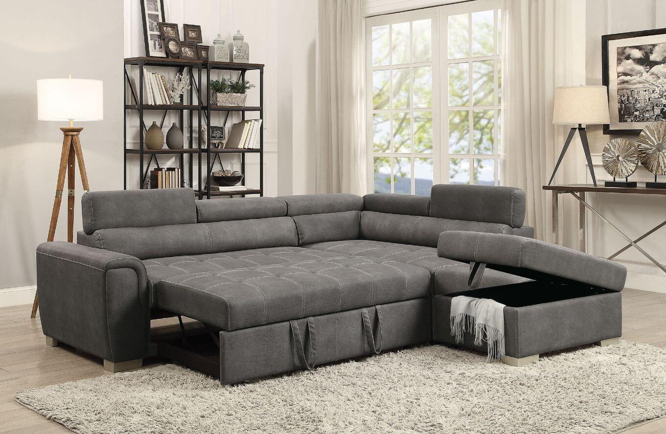 Thelma Sectional Sofa Acme