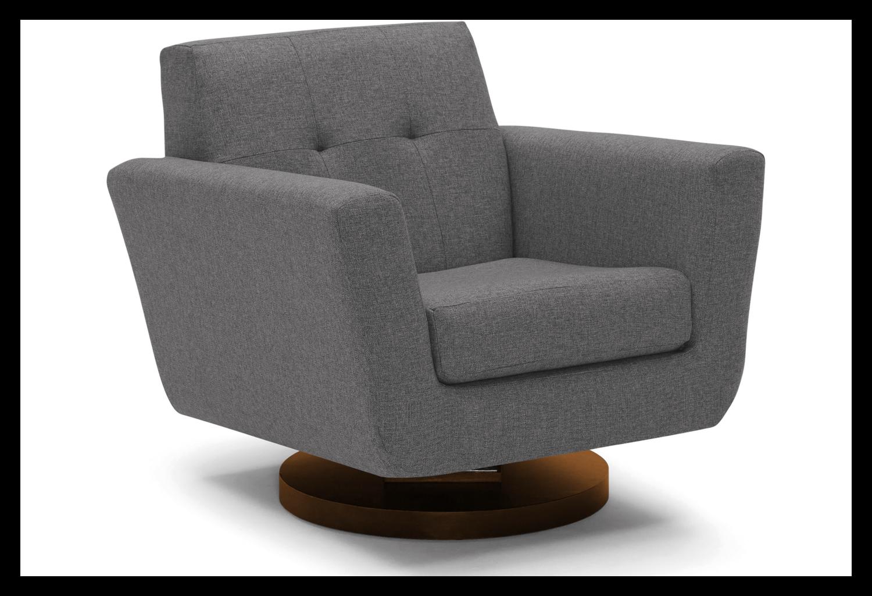 JB Hughes Swivel Chair (Royale Ash) 1572