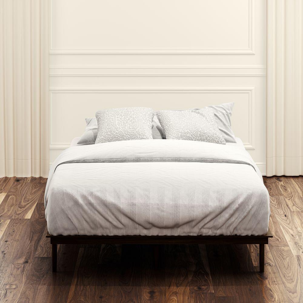 Wood Platform Bed Frame (Bobbie)