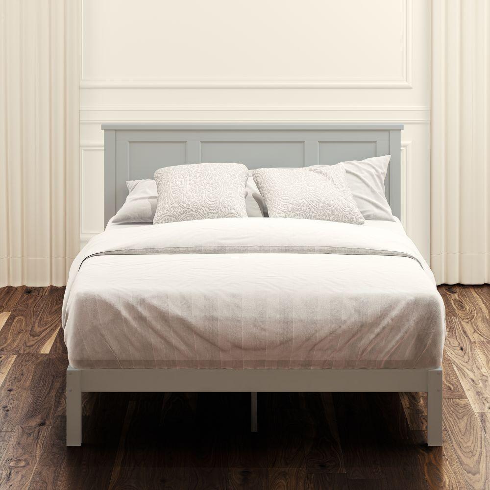 Wood Platform Bed Frame (Andrew)
