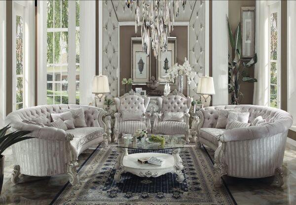 Versailles Sofa (Bone White)