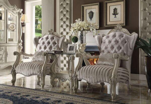Versailles Chair (Bone White)