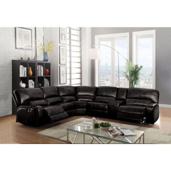 Saul Sectional Sofa Acme