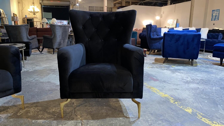 Valeria Black Chair