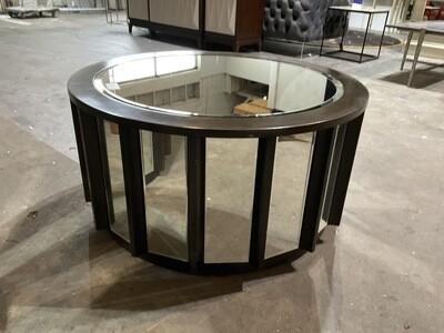 Mirror & Wood Coffee Table