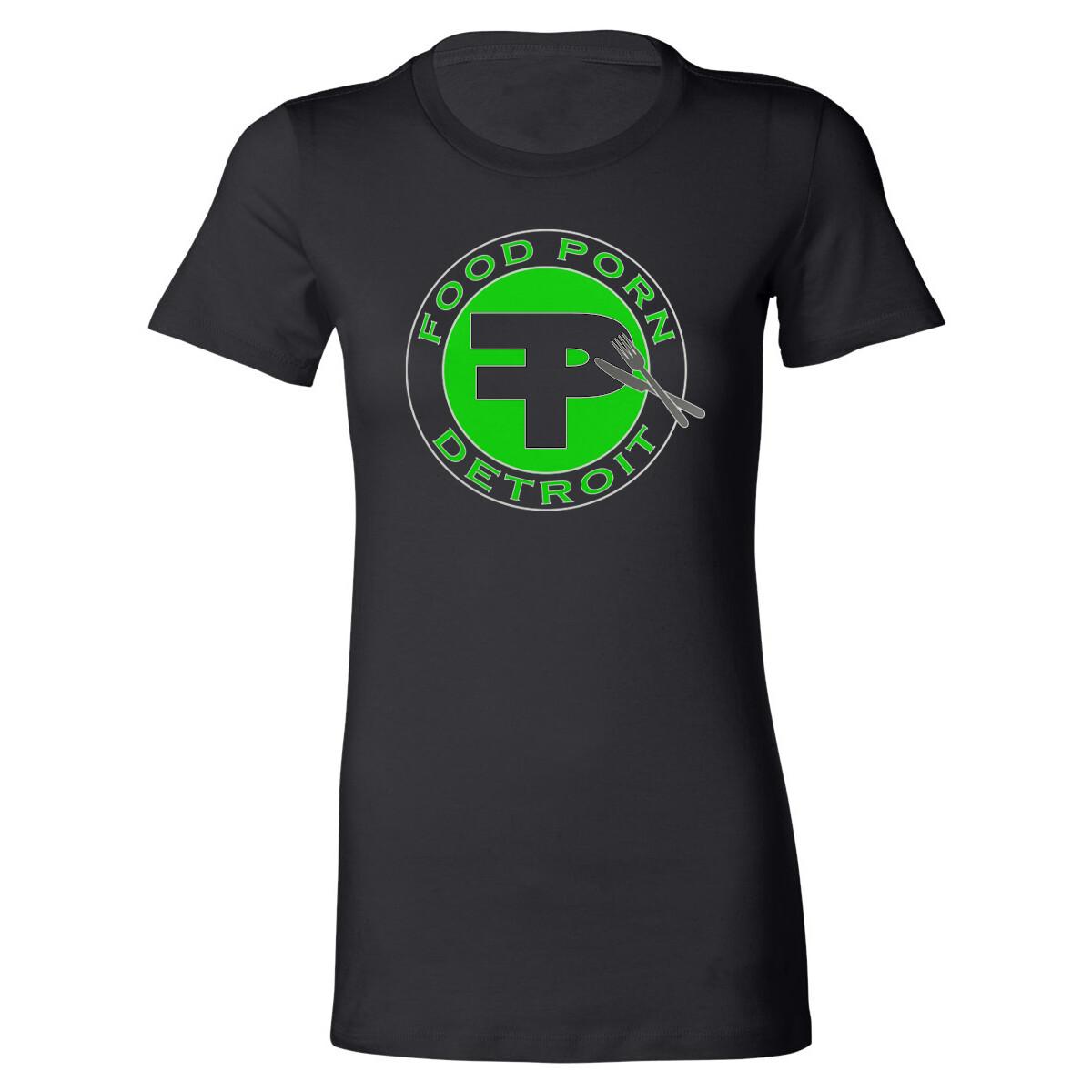 FPD Logo Women's Black T-Shirt