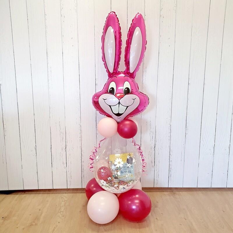 Giant Easter Bunny Gifting Balloon