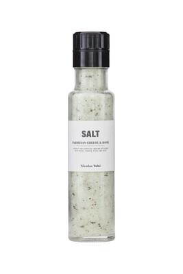 Salt, Parmesanostur & Basilika