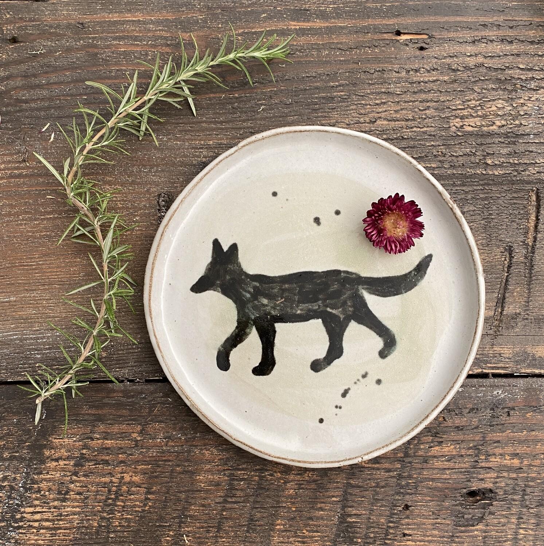 Jen Coyote Plate
