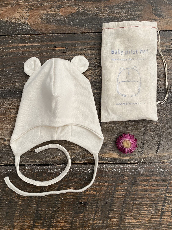 Fog Linen Baby Hat
