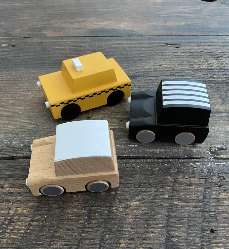 Wood Zoom Car