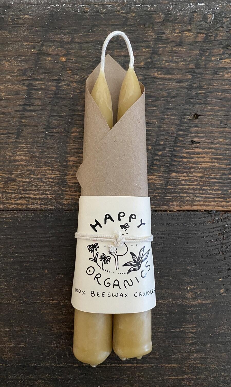 Happy Organics Taper Candles