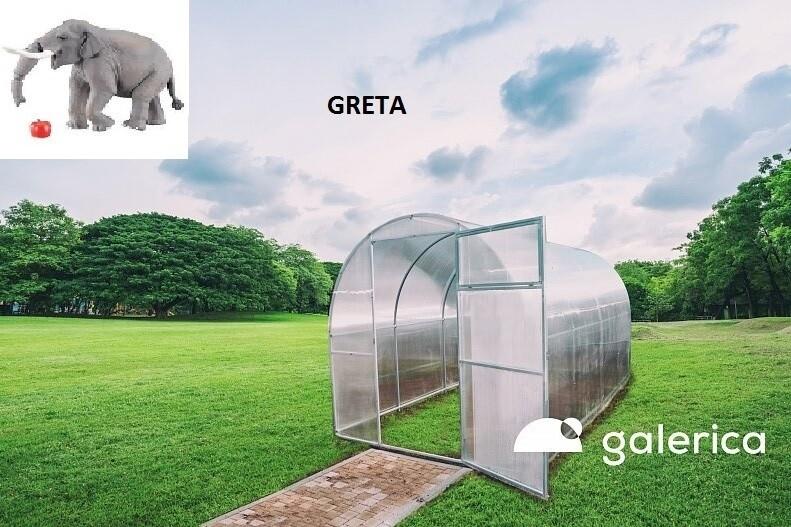 THERMO GEWÄCHSHAUS GALERICA - GRETA