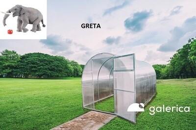 THERMO GEWÄCHSHAUS- TREIBHAUS GALERICA - GRETA