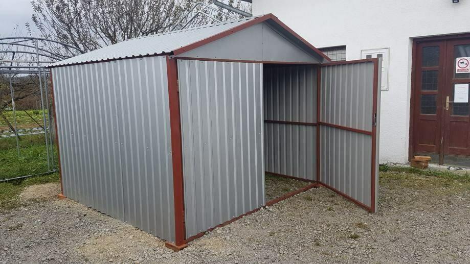 Metall Garagen /  Gartenschuppen / Gartenhaus - 0,50 mm Blech