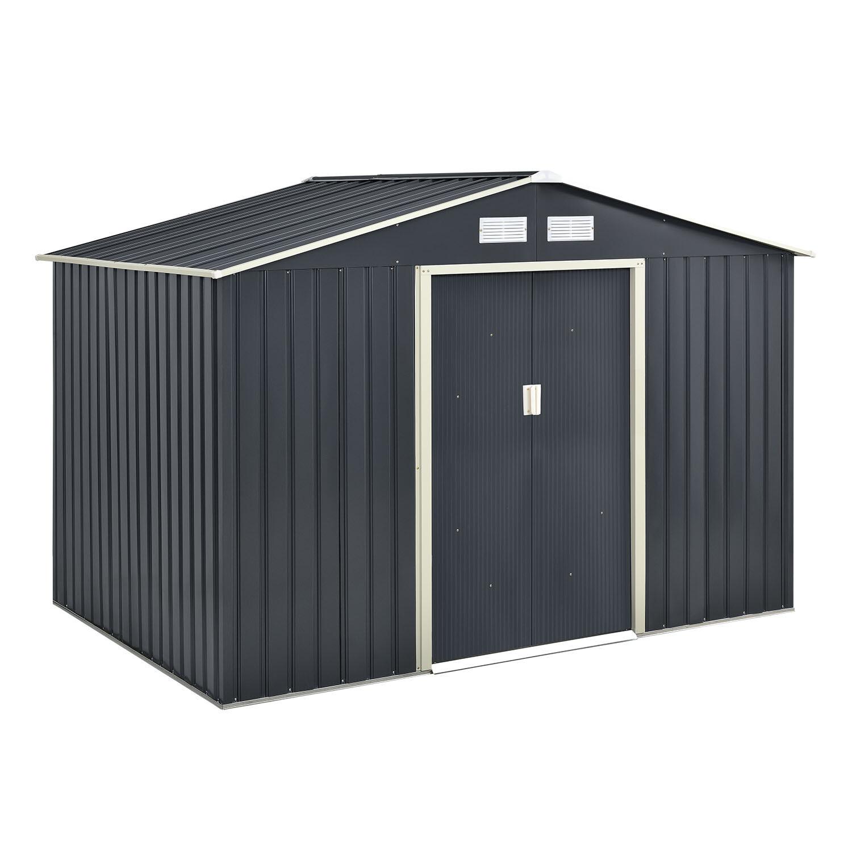 Geräteschuppen - Gerätehaus -  XL antrazit 5 m2