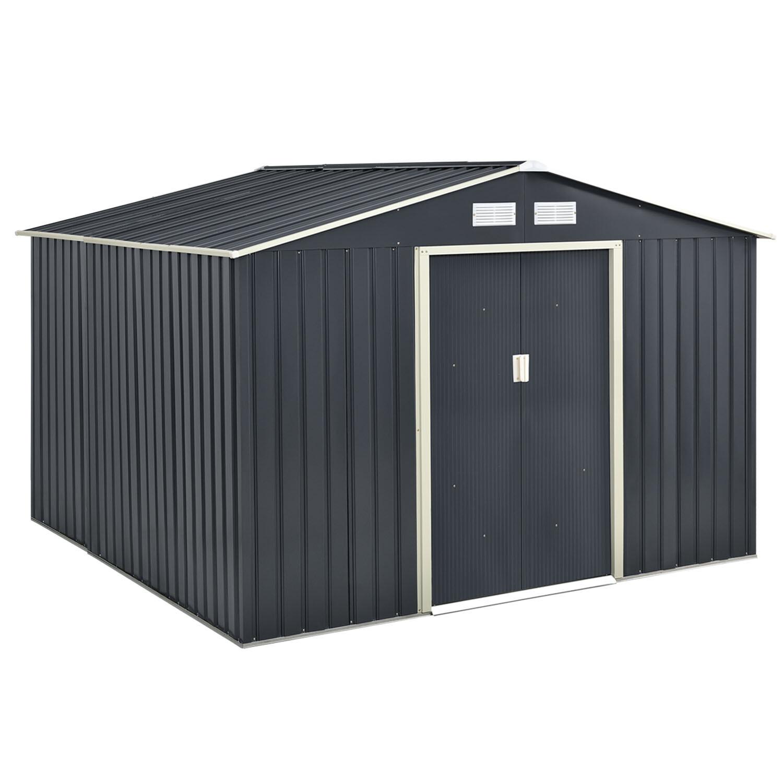 Geräteschuppen - Gerätehaus -  XXL antrazit 8 m2
