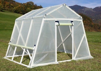 SLO-Qualität  PVC-Gewächshaus mit Folie - Breite 3m oder  MASSNAHMEN WIE GEWÜNSCHT
