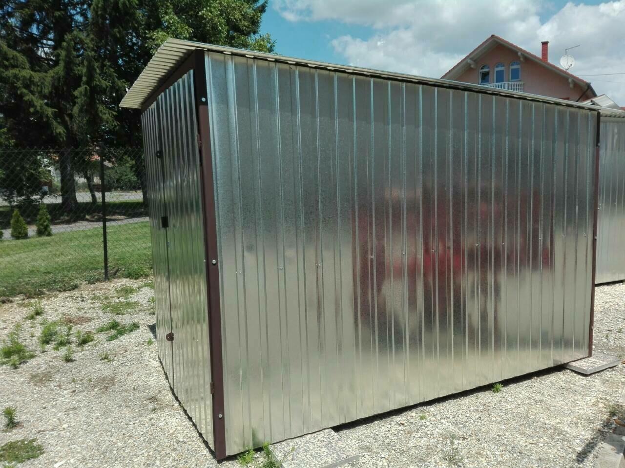 Metallhaus - LAGERUNG 2 × 3 m - Eigenproduktion