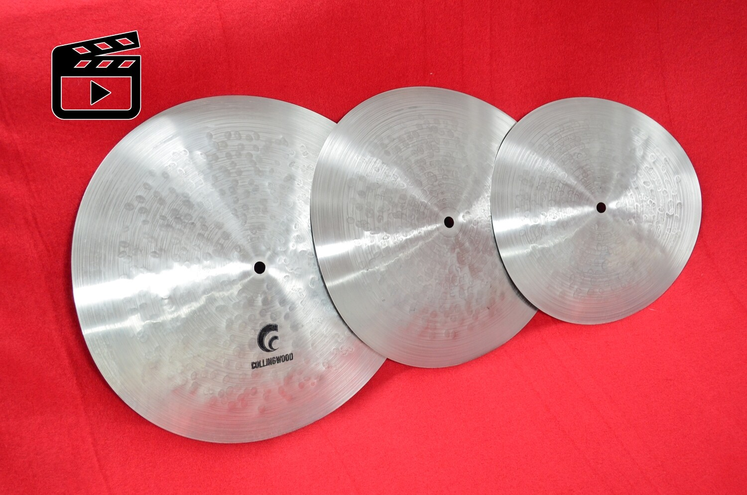 """Reverse Stainless Stack. 15"""" / 13"""" / 11""""."""