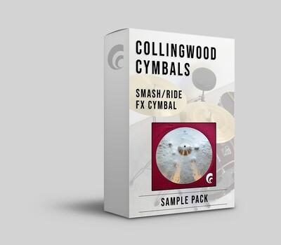 """Digital Sample Pack - 19½"""" Smash / Ride Cymbal"""
