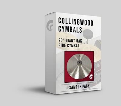 "Digital Sample Pack - 20"" Giant Oak Ride Cymbal"