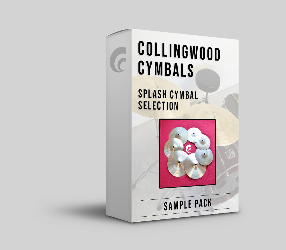 Digital Sample Pack - Splash Cymbal Selection.