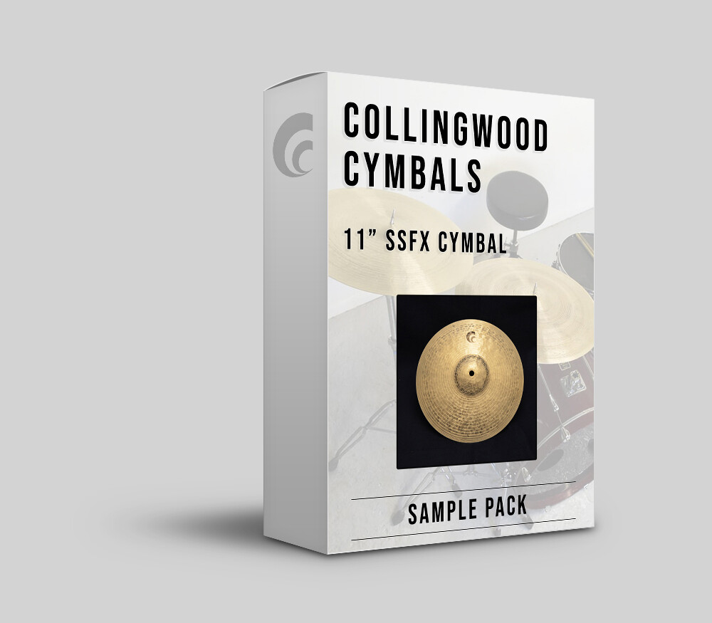 "Digital Sample Pack - 11"" SSFX Cymbal."