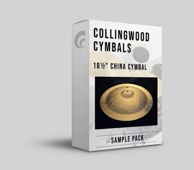 "Digital Sample Pack - 18½"" China Cymbal."
